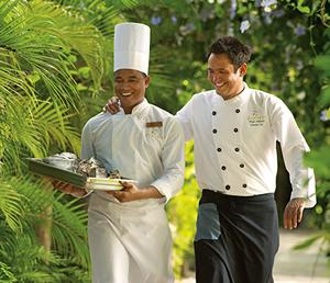 chefs do Zoëtry Agua Punta Cana